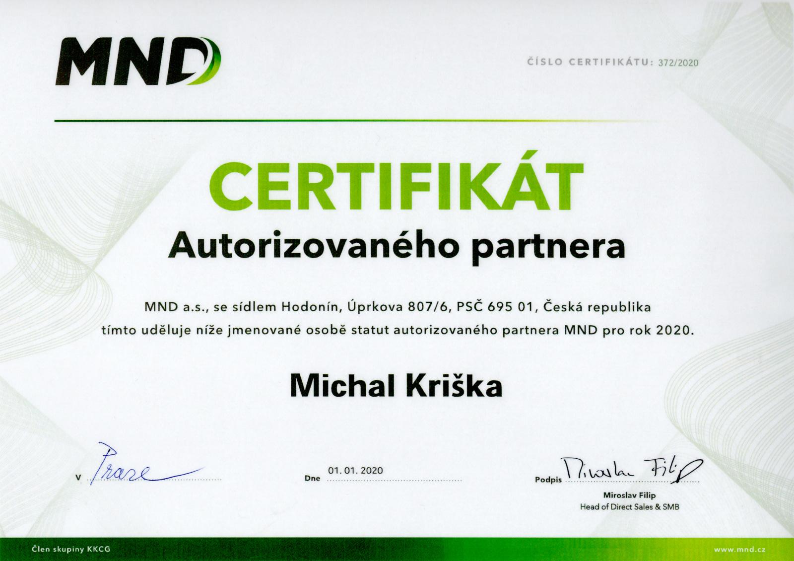 MND energie z první ruky, výhodně a bez závazků