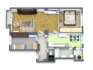 prodej bytu 3+1 s garáží