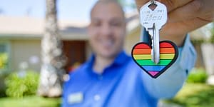 klíč od nové nemovitosti