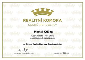 Realitní komora - členství